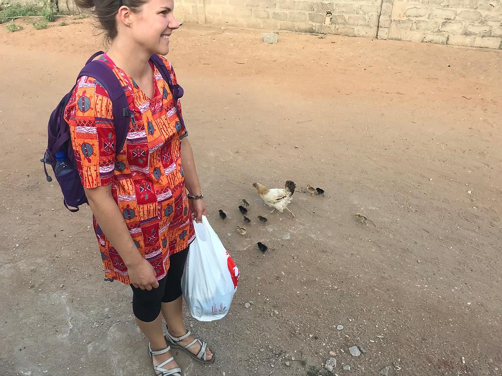 Katja ja kanat kasuaaleina