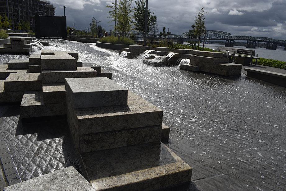 Vancouver, WA USA – Aug. 16, 2019: Water