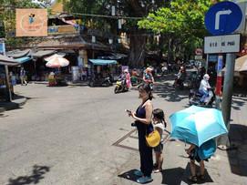 越南 親子自由行 會安古鎮的白天到黑夜