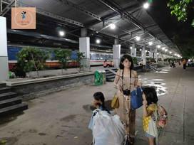 越南 親子自由行 臥鋪火車跨夜旅程