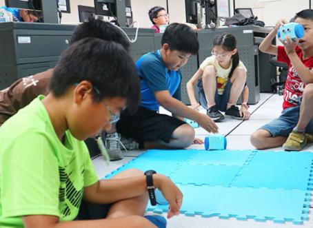 智能機器人程式冬夏令營(國小4~6年級)|台北中正、中山