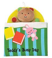 【K's Kids 奇智奇思】布書Teddy's Busy Day 泰迪的一天.