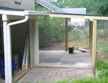 Covered Back Patio
