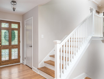 Huntingtowne Entry + Stairs
