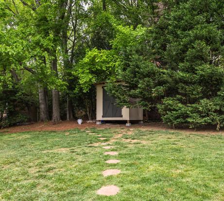 Backyard + Shed