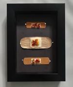 Band Aids framed
