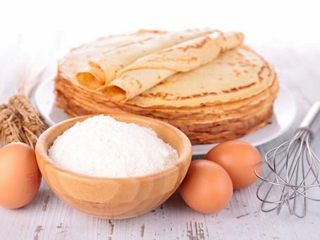 Pour la Chandeleur, vive les crêpes sans gluten et sans lactose !