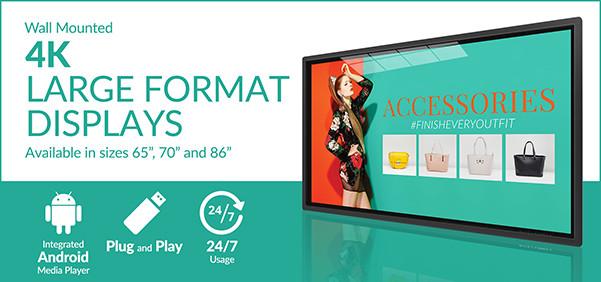 4K Large Format Displays Email Signature