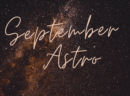 September Astro 🌝💛