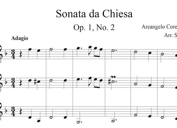 Adagio, from Sonata da Chiesa, Op. 1, No. 2 by Corelli