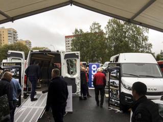 57 minibusser driftet på biogass!