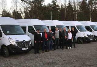 Trucknor's levering og sjåføropplæring til Setesdal