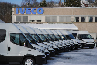 Leveranse Iveco Daily 12m3 -pasienttransport for Helse Region Øst.