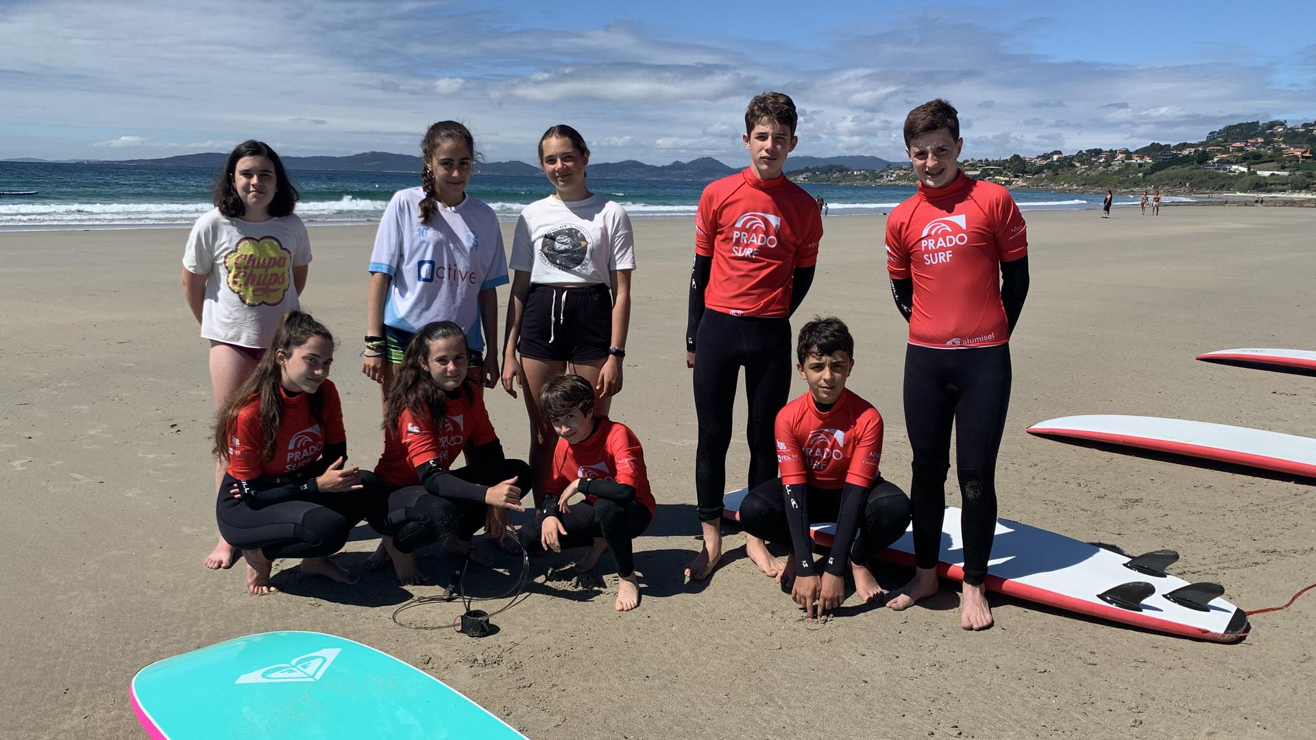 SURF IN ENGLISH - BAIONA 2020