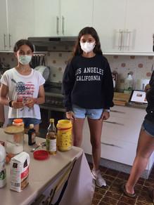 Cake-making class
