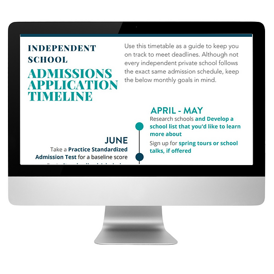 TLM Admissions Process Timeline