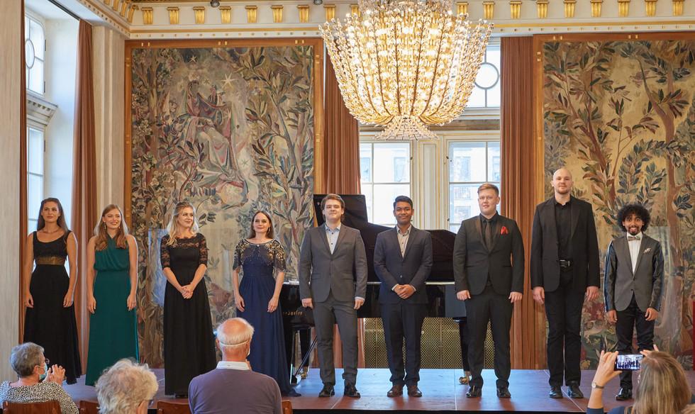 First Studio Concert of the Young Artist Program of the Vienna State Opera. /   Antrittskonzert (erstes Studiokonzert) des Neuen Opernstudios der Wiener Staatsoper.