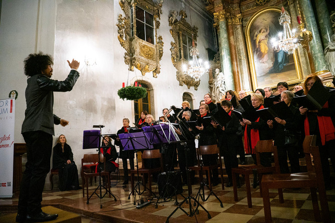 Advent Concert of the Vienna Tonkunstvereinigung. /   Adventkonzert der Wiener Tonkunstvereinigung.