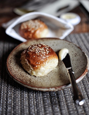 Bread Butter Plate - 6.5%22 Ash Glaze.jp
