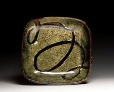 Serving Plate, Tenmoku and Rice Hull Ash Glaze