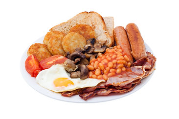 Traditional English Breakfast. Image is