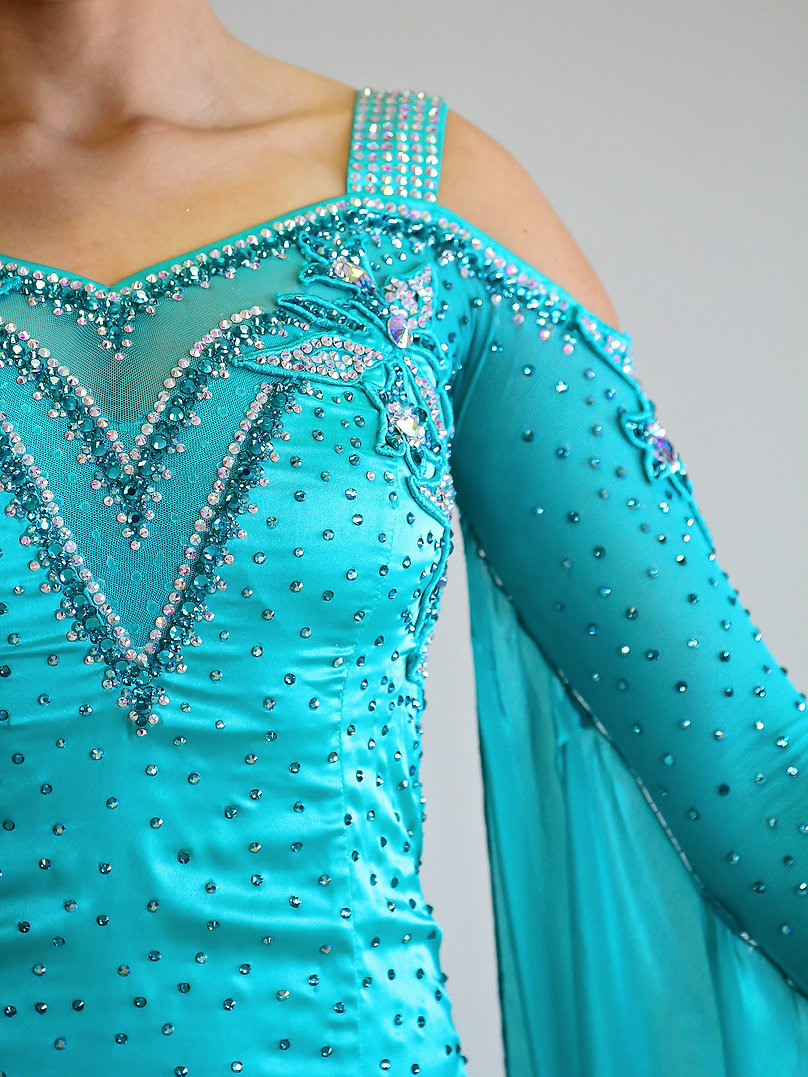 Choosing a Ballroom Dancing Gown for Your Body Type
