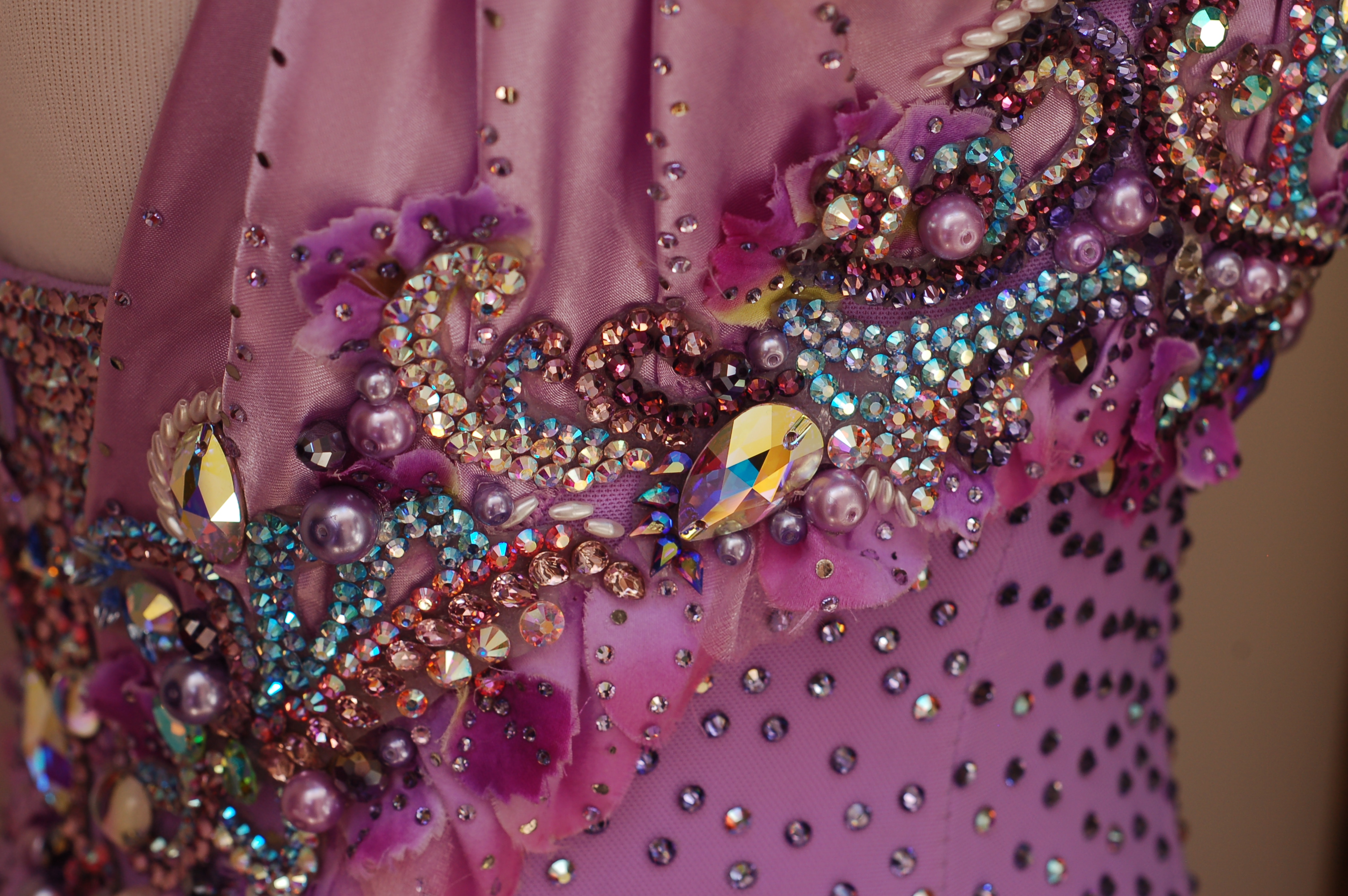 Custom Ballroom Dance Dresses