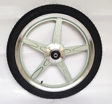 jog wheels light green