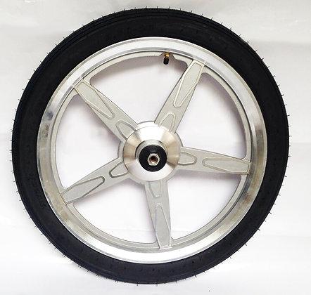 jog wheel silver