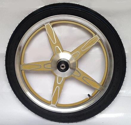 jog wheels gold