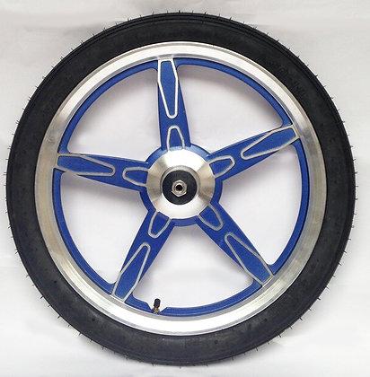 jog wheels blue