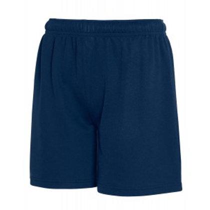 Navy P E Shorts