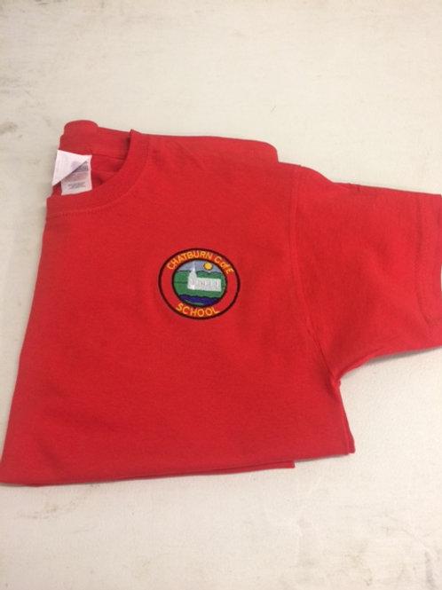 Chatburn Red P. E. T-Shirt