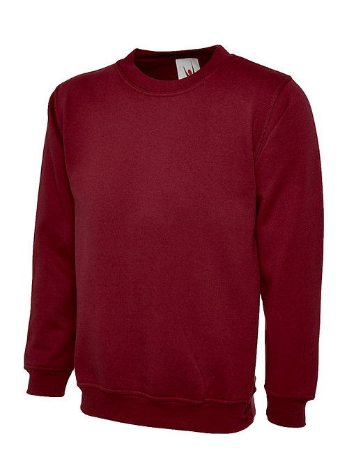 Chatburn Burgundy Sweatshirt for Year 6
