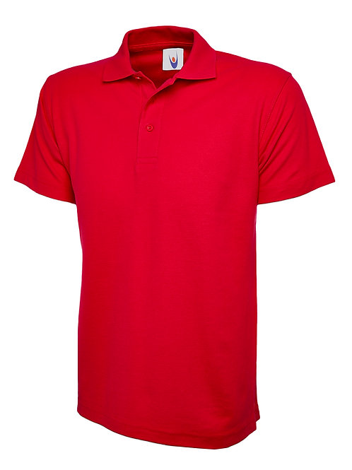 Chatburn White or Red Polo Shirt