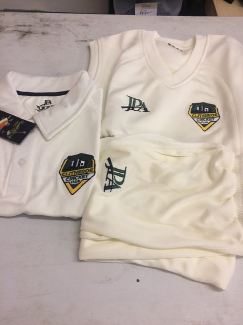 Clitheroe Cricket Club Junior Playing Kit