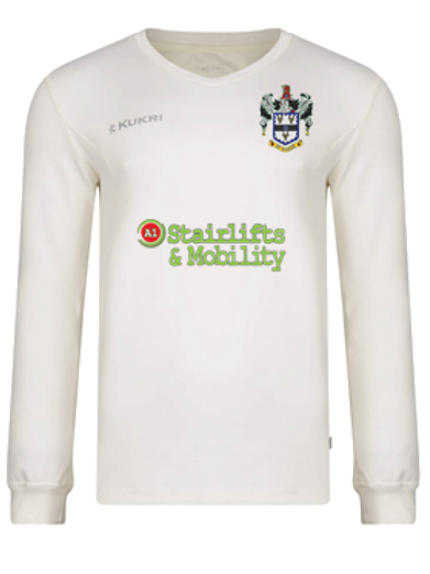 Keighley long sleeved cricket jumper Juniors