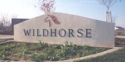 Wildhorse Sign Lettering