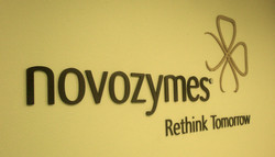 Novozymes Logo Wall