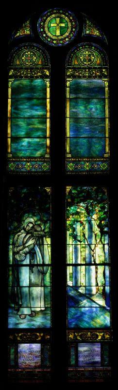 Authentic Tiffany Madonna With Baby Jesus Restoration