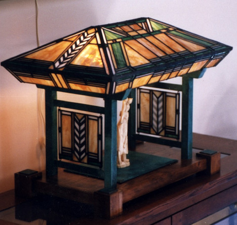 Frank Lloyd Wright Style Lampshade