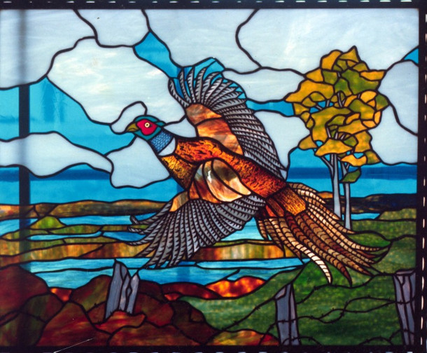 Pheasant Landscape Window