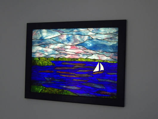 Seascape Light Box Window