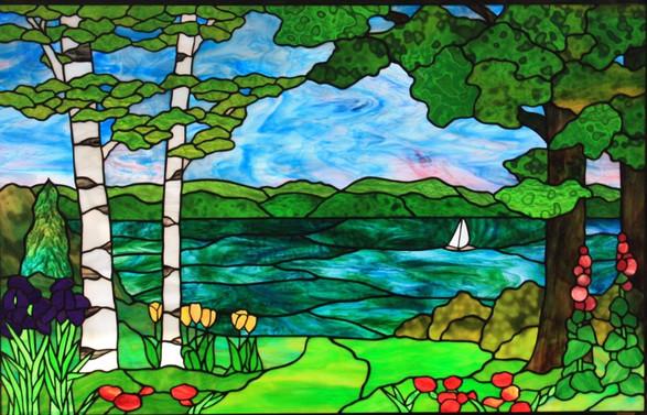 Lake Geneva Landscape