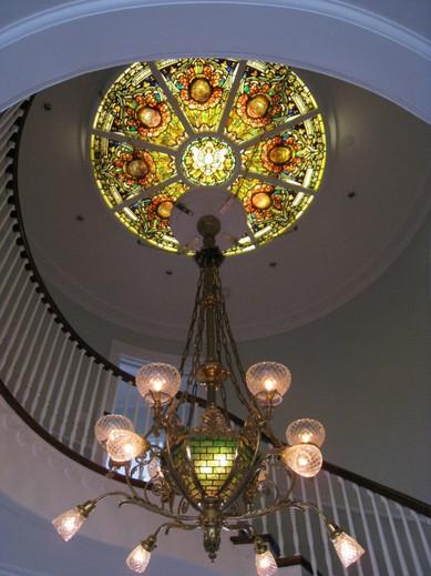 Authentic Tiffany Skylight Restoration