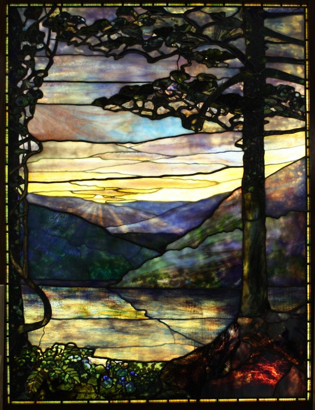 Authentic Tiffany Landscape Restoration
