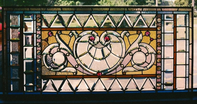 Antique Beveled Panel