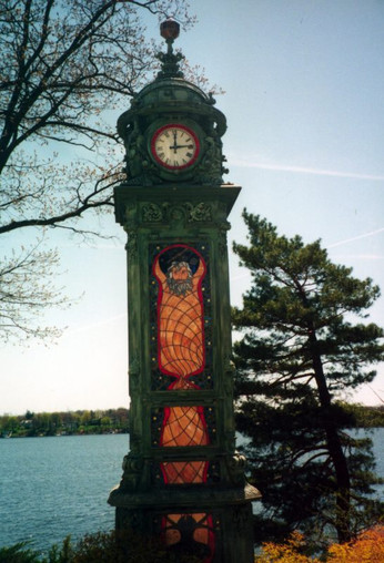 1893 Columbian Exposition Water Clock