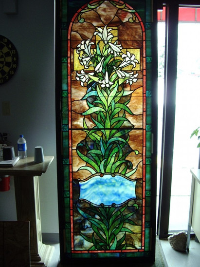 Authentic Payne Stained Glass Restoration