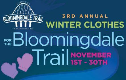 3rd Annual Winter Clothes for the Bloomingdale Trail
